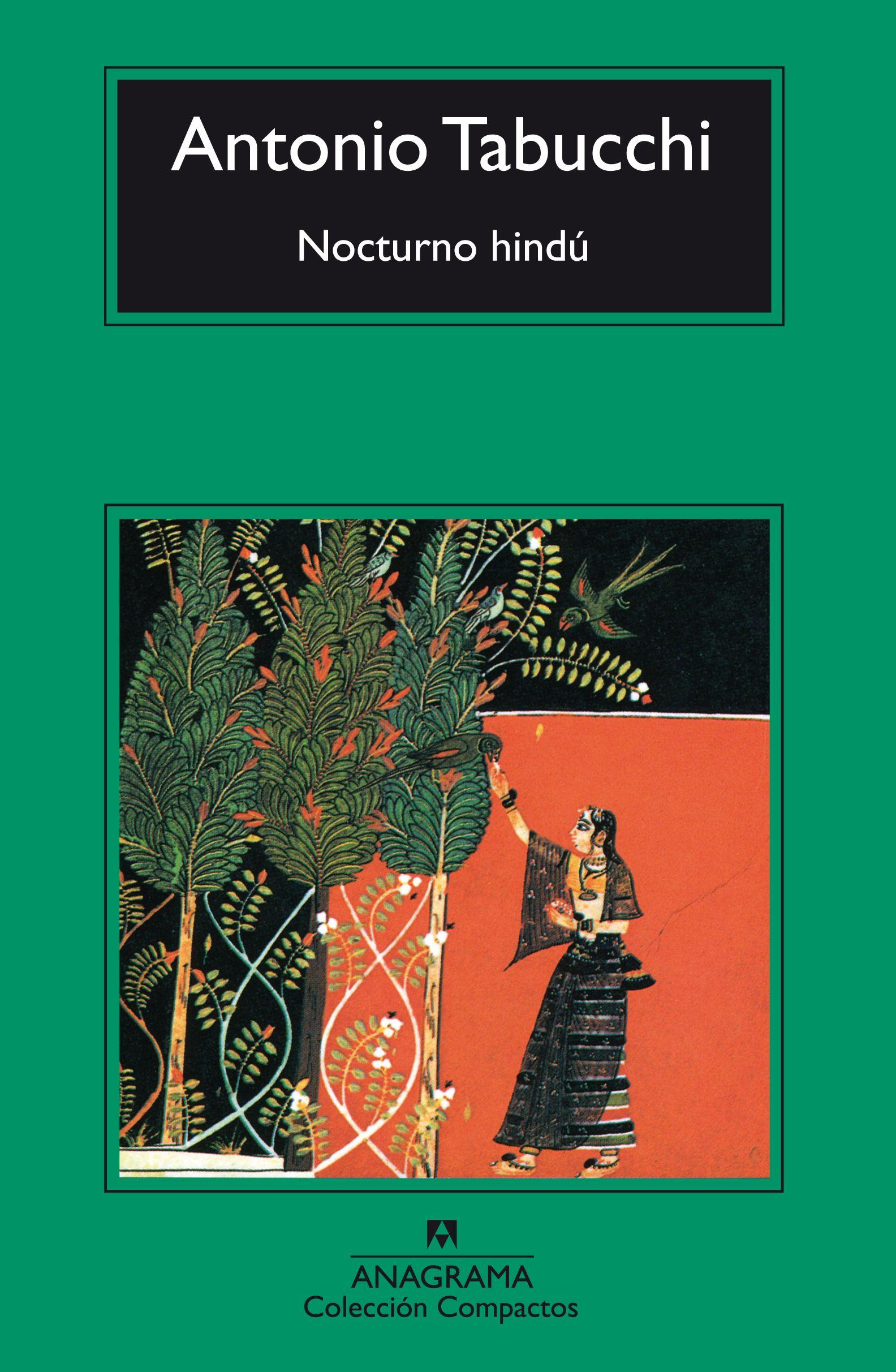 Nocturno hindú - Tabucchi, Antonio - 978-84-339-1446-0 - Editorial Anagrama