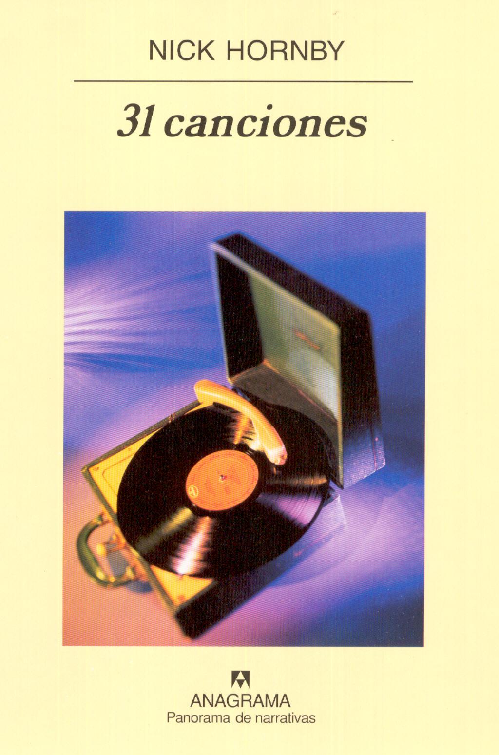31 canciones - Hornby, Nick - 978-84-339-7042-8 - Editorial Anagrama
