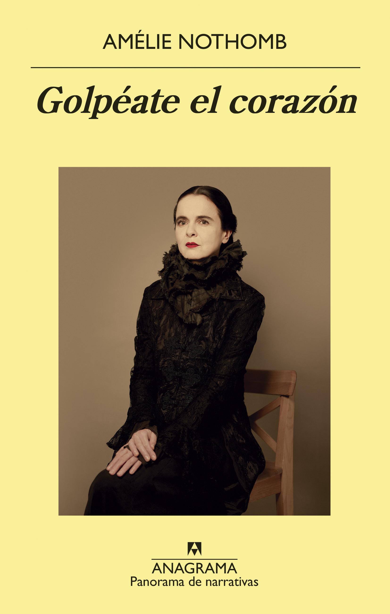 Resultado de imagen de Golpéate el corazón</i>, de Amélie Nothomb