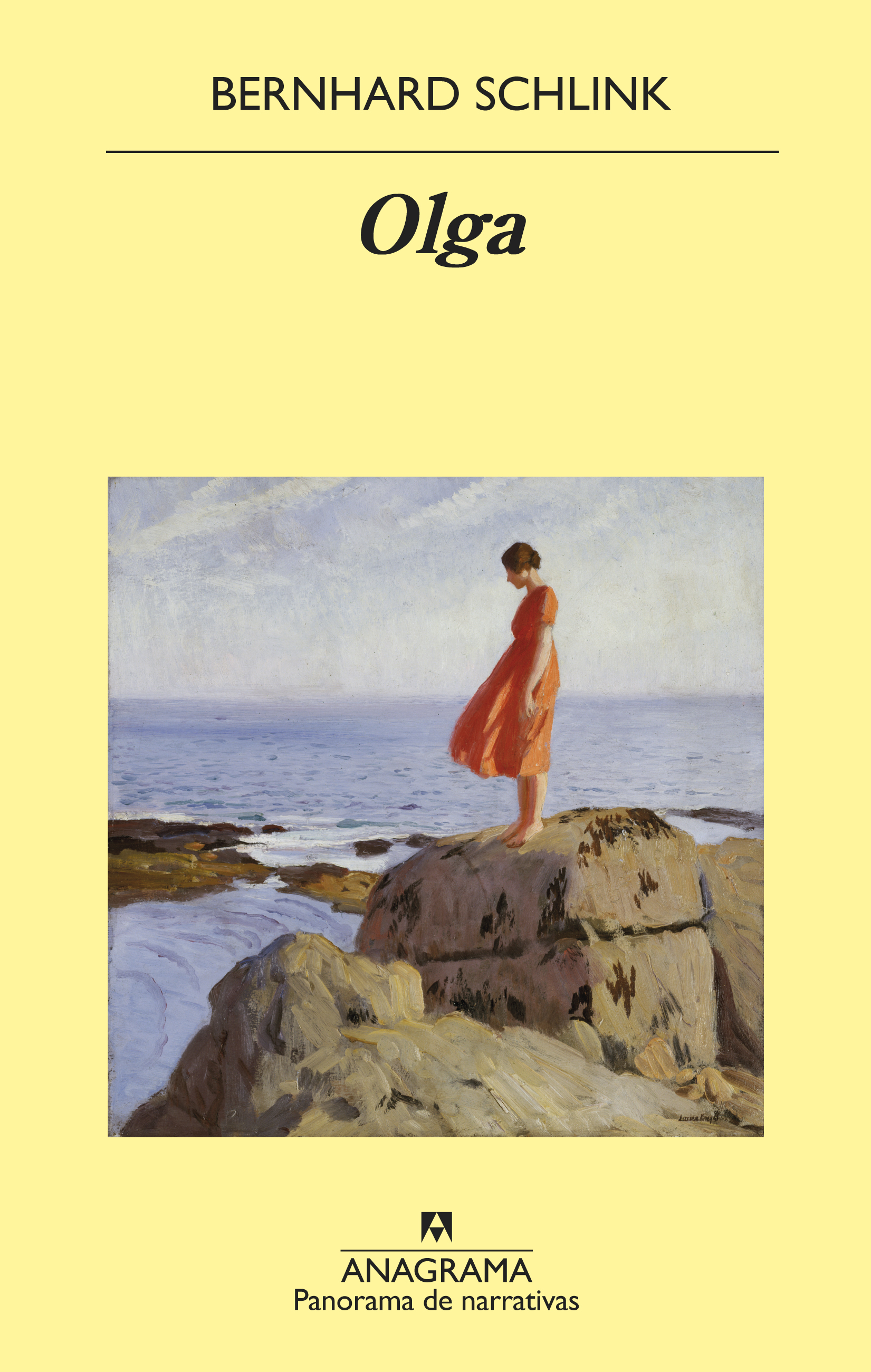 Olga - Schlink, Bernhard - 978-84-339-8039-7 - Editorial Anagrama